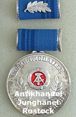 Ehrenmedaille Nationale Front .:. Orden DDR