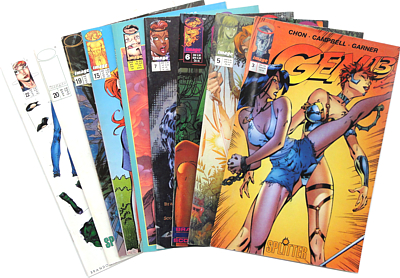 Brandon Choi, Jim  Lee :: Gen 13 - Heft 3, 5-7, 13, 15, 20, 22 (Antiquariat Rostock)