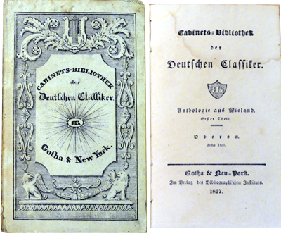 Christoph Martin Wieland :: Anthologie aus Wieland - 1. Theil (Antiquariat Rostock)